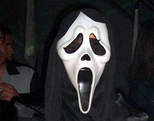Overval gedaan met Scream-masker