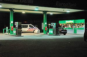 Overval op tankstation in Dokkum
