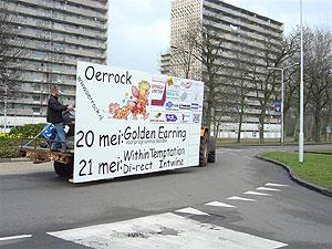 Oerrock doet recla-rondje Drachten