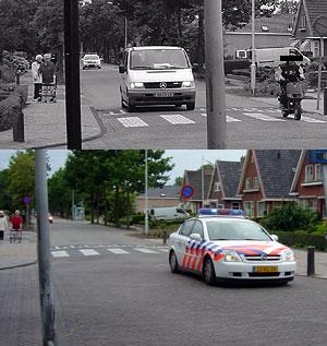 Ureterp: scooter ontsnapt aan politie