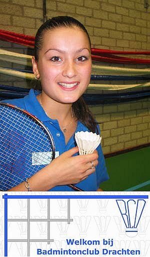 Badminton Drachten: shuttle en pluim