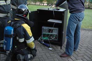 Brandgerucht in bedrijfspand Drachten