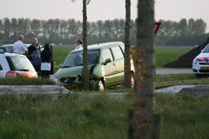 Vrouw gewond bij ongeval in Terwispel