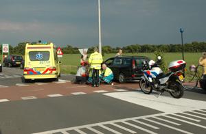 Racefietser aangereden Kooilaan