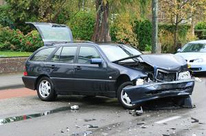 Auto's botsen in Drachten