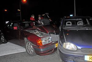 Ongeval op Rondweg Veenwouden
