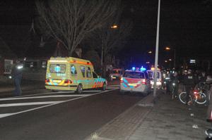 Ongeval met scooter Hoofdweg