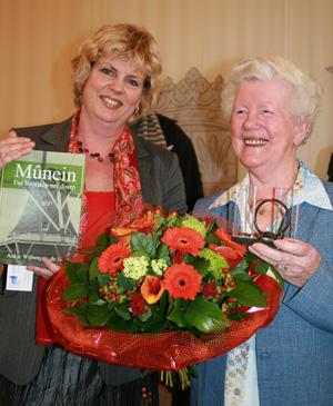 Schrijfster wint Kultuerpriis T-diel