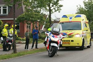 Meisje lichtgewond na val van fiets
