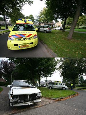 Gewonde bij ongeval Surhuisterveen