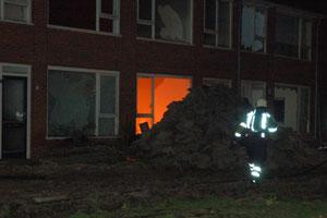 Dokkum: weer brand in sloopwoningen