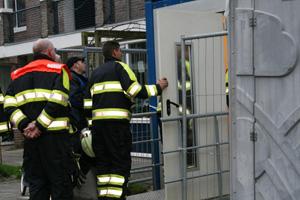 Jongetje vast in bouwlift te Gorredijk