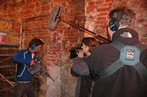 Filmploeg volgt verbouwing Woudstra