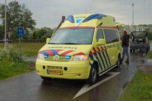 Fietser gewond geraakt bij de Falom