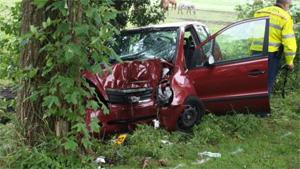 Vrouw gewond na ongeval in Tytsjerk