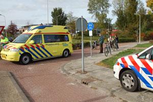 Meisje gewond op Rondweg Dokkum