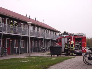 Vlam in de pan bij asielzoekerscentrum
