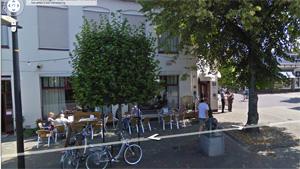 Google Streetview laat regio zien