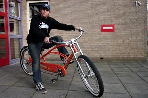Gestolen fiets (lowrider) teruggevonden