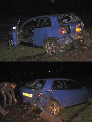 Marrumer gewond bij ongeval