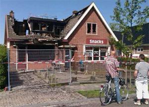 Kroeg in Noardburgum uitgebrand