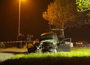 Oentsjerker overleden na ongeval
