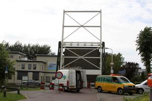 Spaltenbrug Terwispel weer in bedrijf
