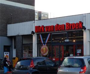 Supermarkt Dirk stopt in Drachten
