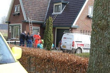 Schilder gewond na val van dak eastermar for Schilder inhuren per uur