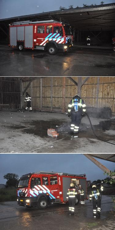 Klein brandje op Hogedijken Dokkum