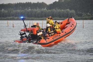 Gewonde bij vastlopen boot op Lauwersmeer