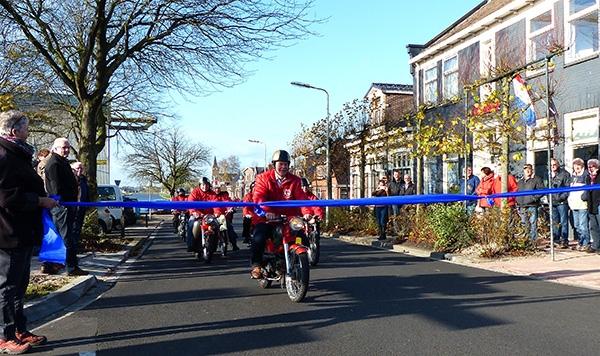 Doorgaande weg Stroobos officieel geopend