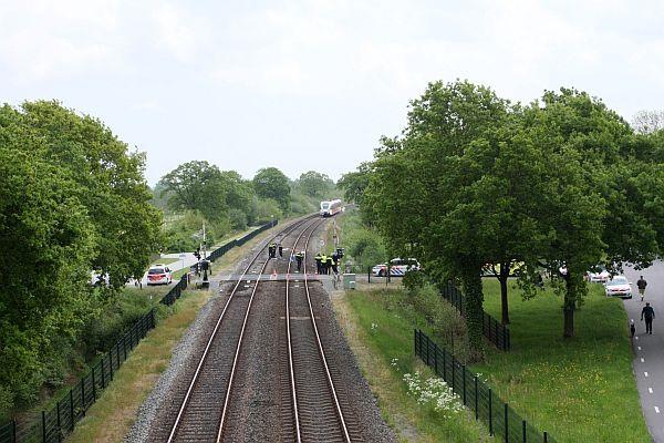 Aanrijding bij Buitenpost: geen treinverkeer