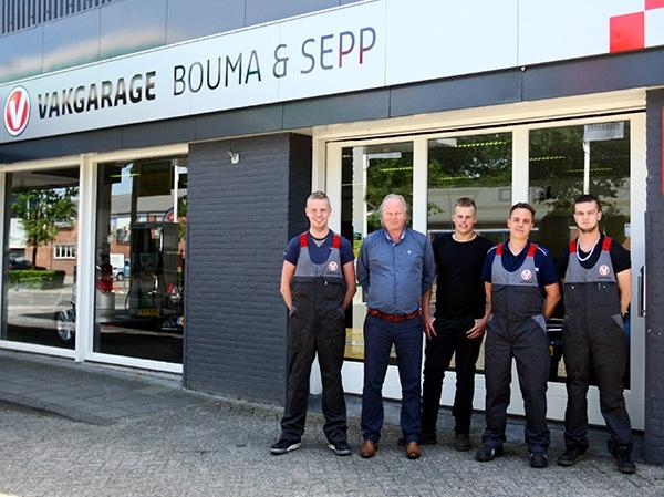 Dé Vakgarage in Burgum: Bouma & Sepp