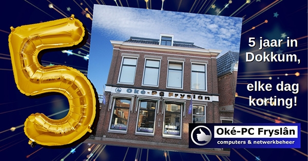 Oké-PC 5 jaar in Dokkum
