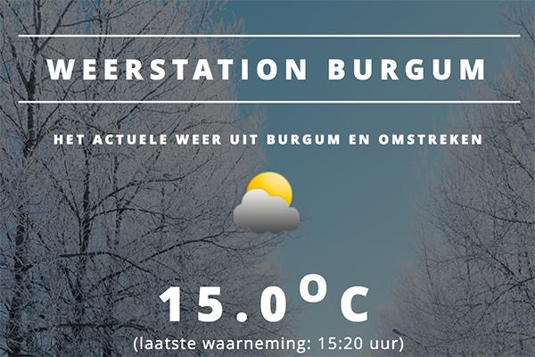 Eerste 'lentedag' het warmst in Burgum