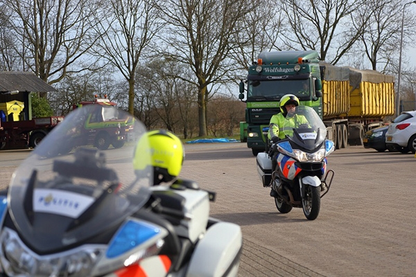 Milieu- en transportcontrole in Drachten
