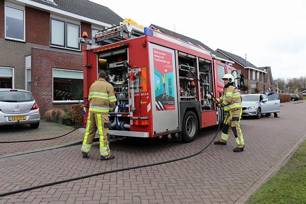 Brand door kortsluiting in Gorredijk
