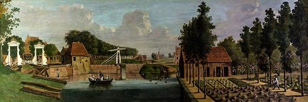 Langste schilderij van Dokkum is weer terug