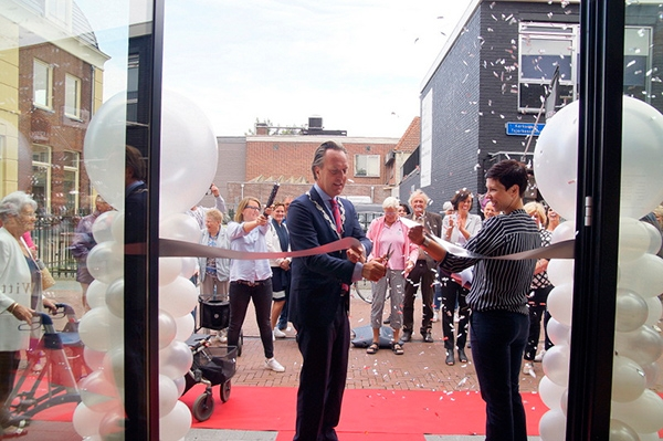 Laatste 'opening' voor burgemeester Van Bekkum