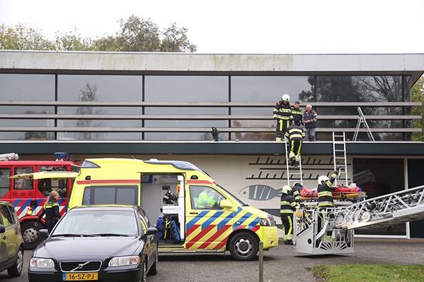 Man gewond na val van ladder in Drachten