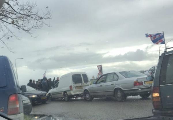Bussen met demonstranten naar huis gestuurd