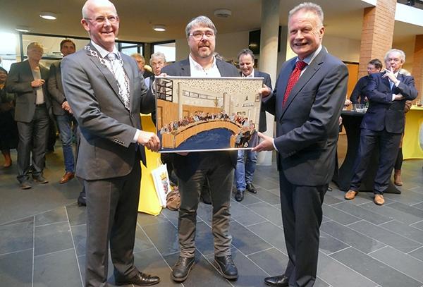 Burgemeester Sicko Heldoorn neemt afscheid