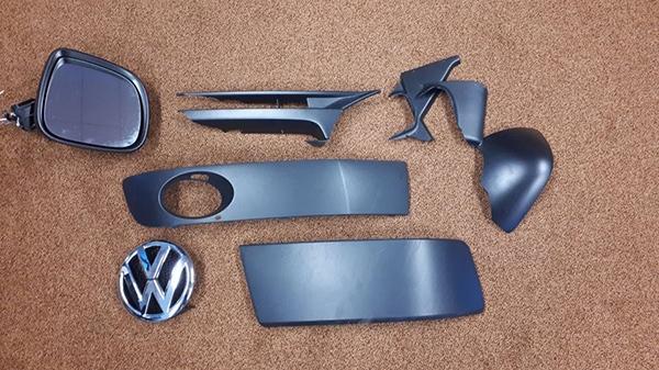 Wie heeft deze VW-onderdelen verloren?