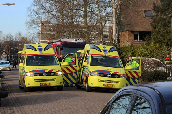Onwelwording door koolmonoxide in Drachten