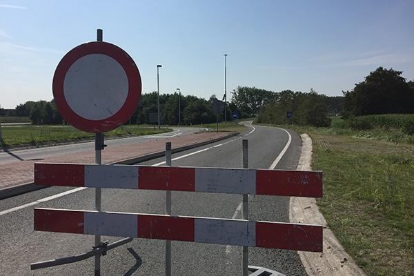 Wâldwei in juli even 'dicht' voor fietstocht