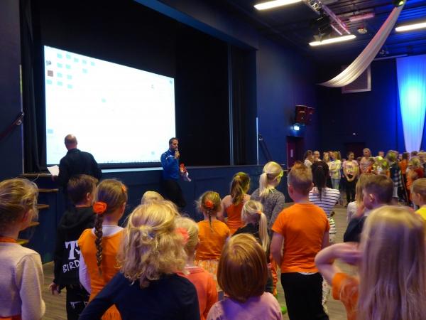 Kinderburgemeester opent Koningsspelen