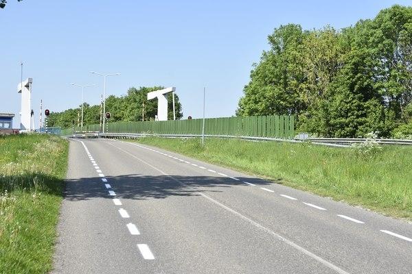 Schreiersbrug tijdelijk open voor fietsers