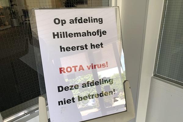 Uitbraak rotavirus in Berchhiem in Burgum
