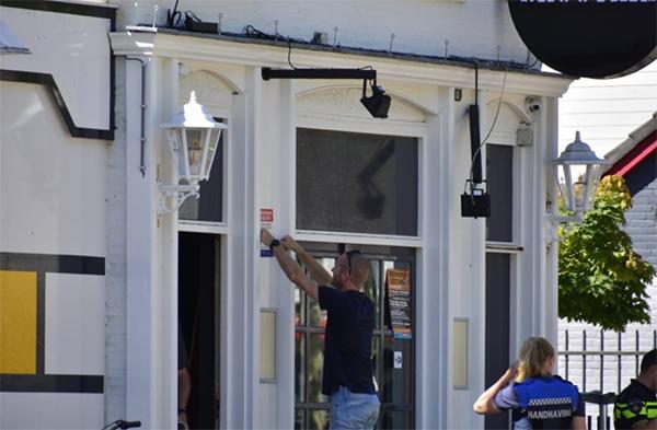 Café Shooters definitief verzegeld en gesloten